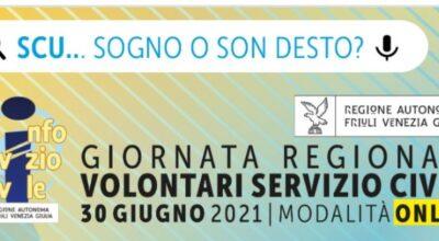 30 giugno: Giornata Regionale Volontari Servizio Civile